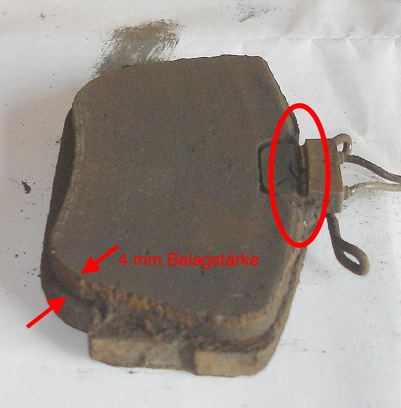Bremsbelagverschleißanzeige – T4-Wiki
