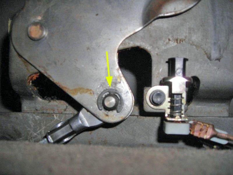 Bremse Handbremse Bremsseil Befestigung Sperrklinke Hebel