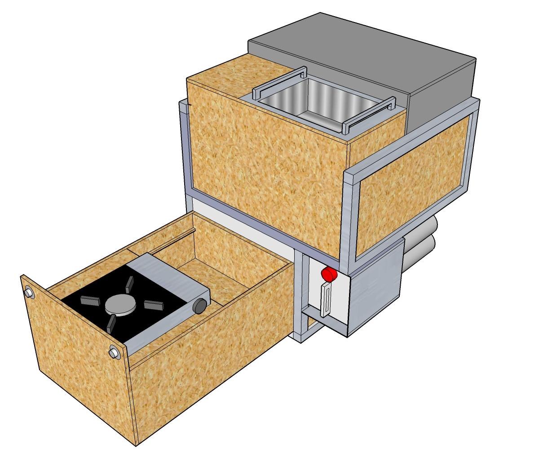 T4 kuche selber bauen for Kuchenblock selber bauen