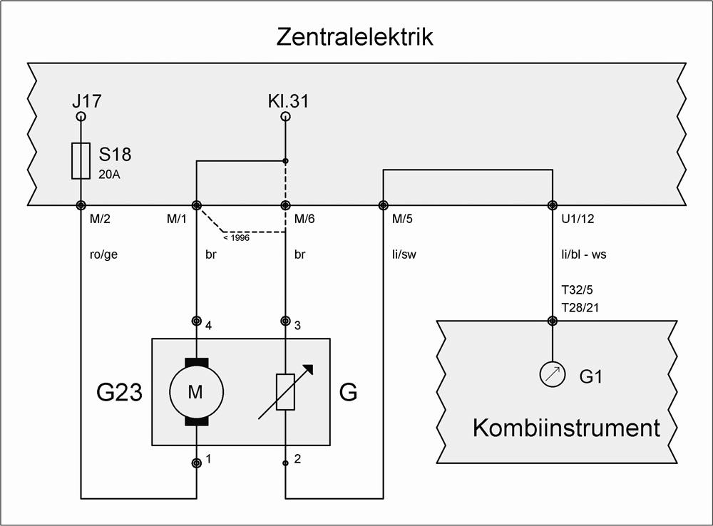 Snap Wunderbar Schaltplan Für Die Tankanzeige Bilder Elektrische ...