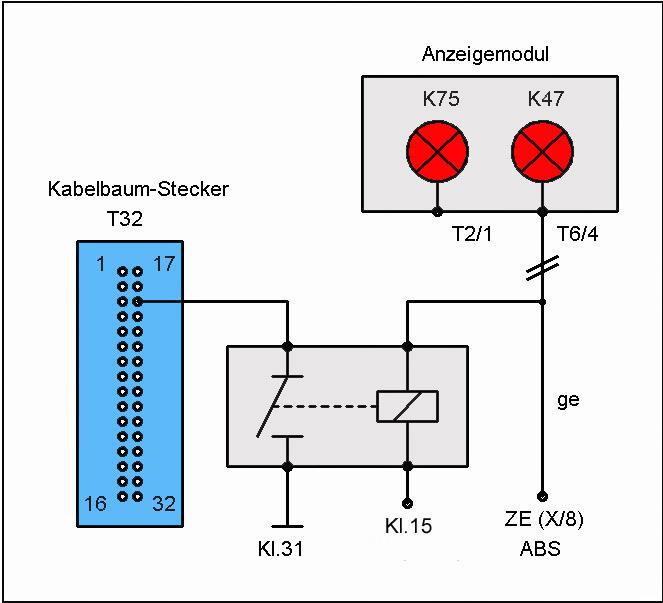 Kombiinstrument (Umbau) – T4-Wiki