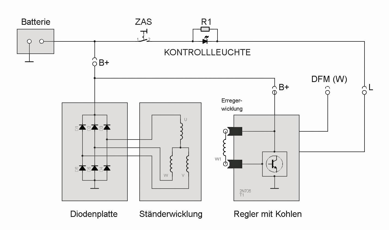 Ungewöhnlich Lichtmaschine Schaltplan Bosch Galerie - Elektrische ...