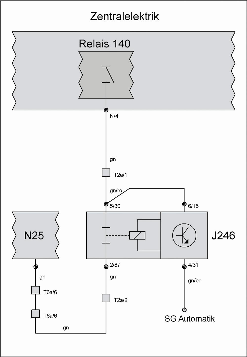 Relais J365 (Klimaanlagenabschaltung) – T4-Wiki