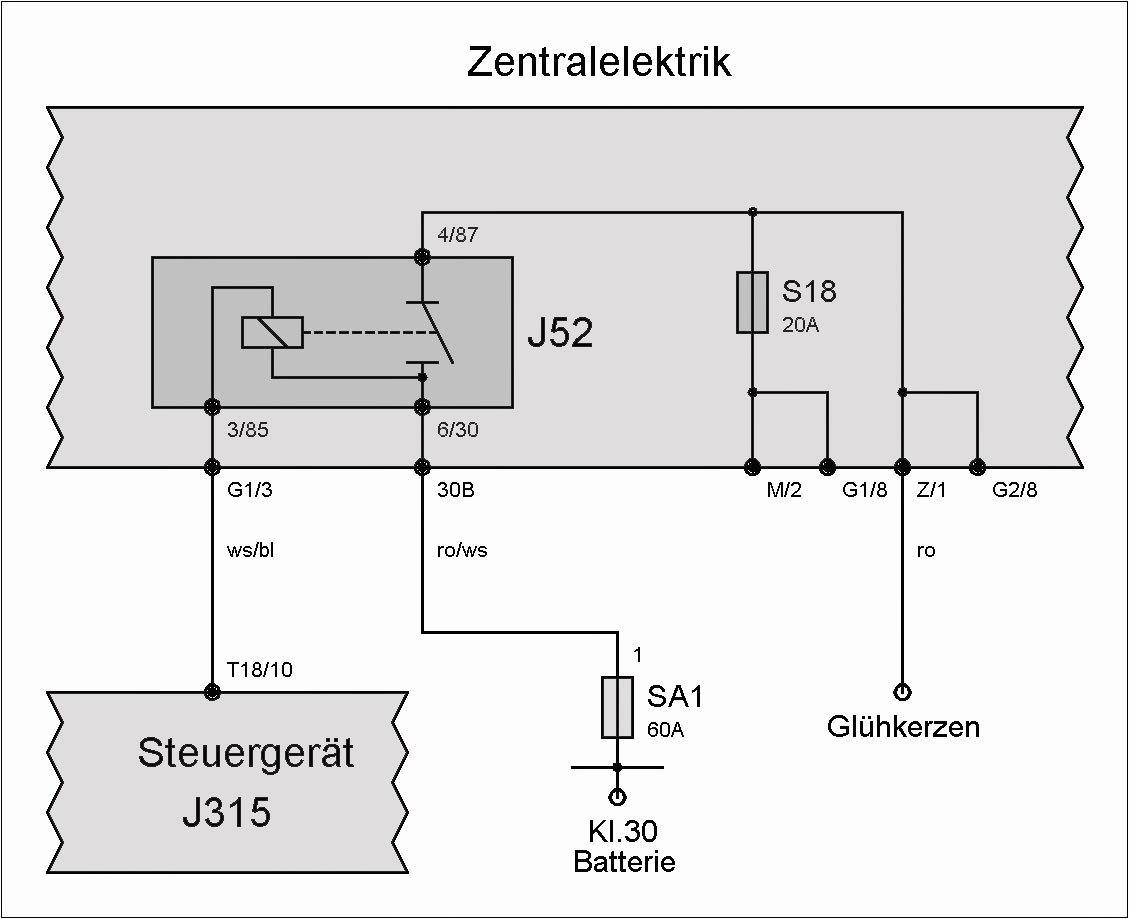 Fantastisch Einfacher Schaltplan Des Relais Zeitgenössisch - Der ...