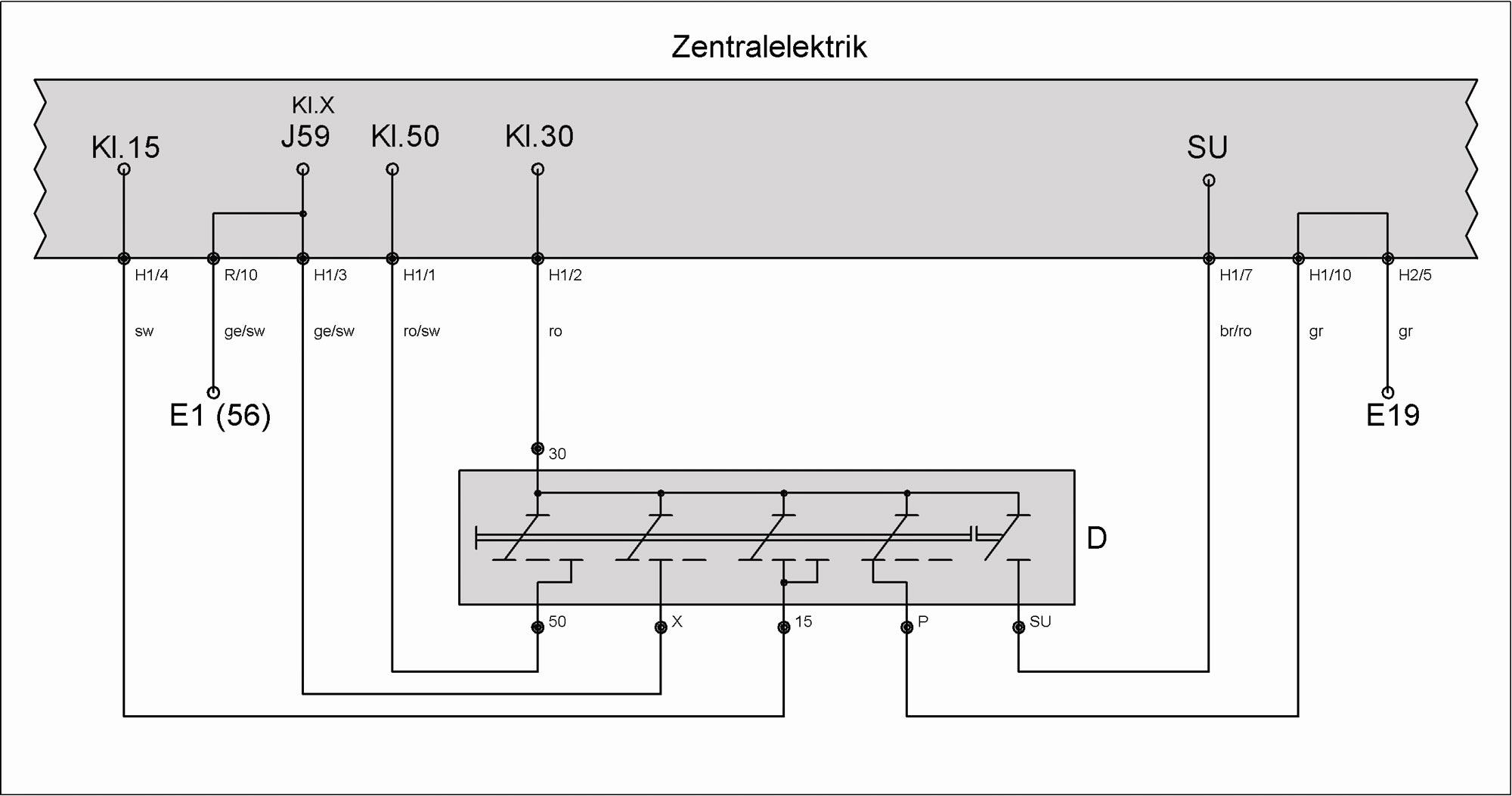 Wunderbar Schaltplan Für 3 Lichtschalter Bilder - Der Schaltplan ...