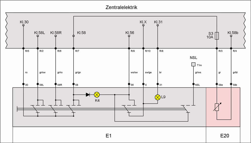 Gemütlich Ein Schalter Zwei Lichter Schaltplan Galerie - Elektrische ...