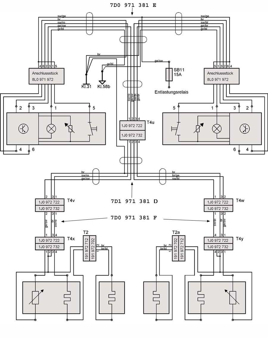 Vw Can Bus Wiring Diagram House Symbols 1974 Alternator Sitzheizung T4 Wiki 1973
