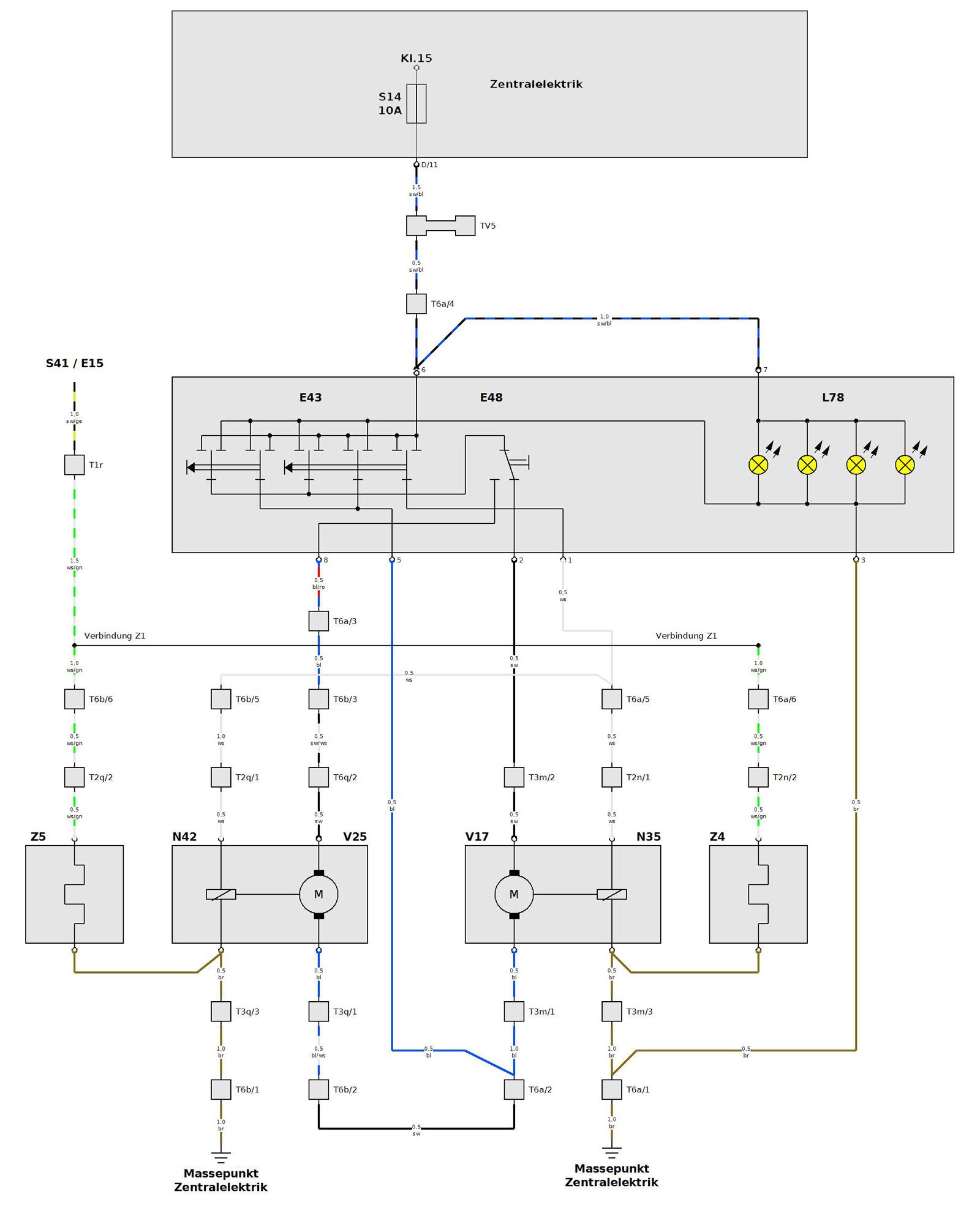 Nett Schaltplan Für 3 Gruppenschalter Fotos - Elektrische Schaltplan ...