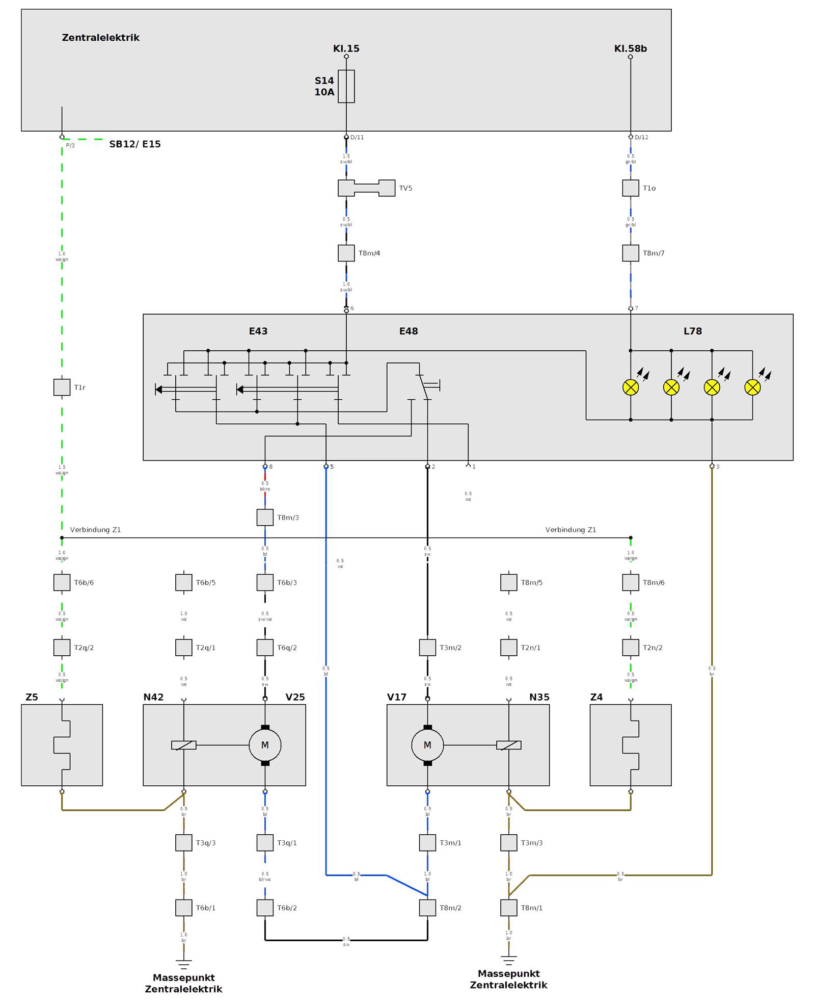 Charmant Elektrisches Schaltbild Ideen - Der Schaltplan - triangre.info