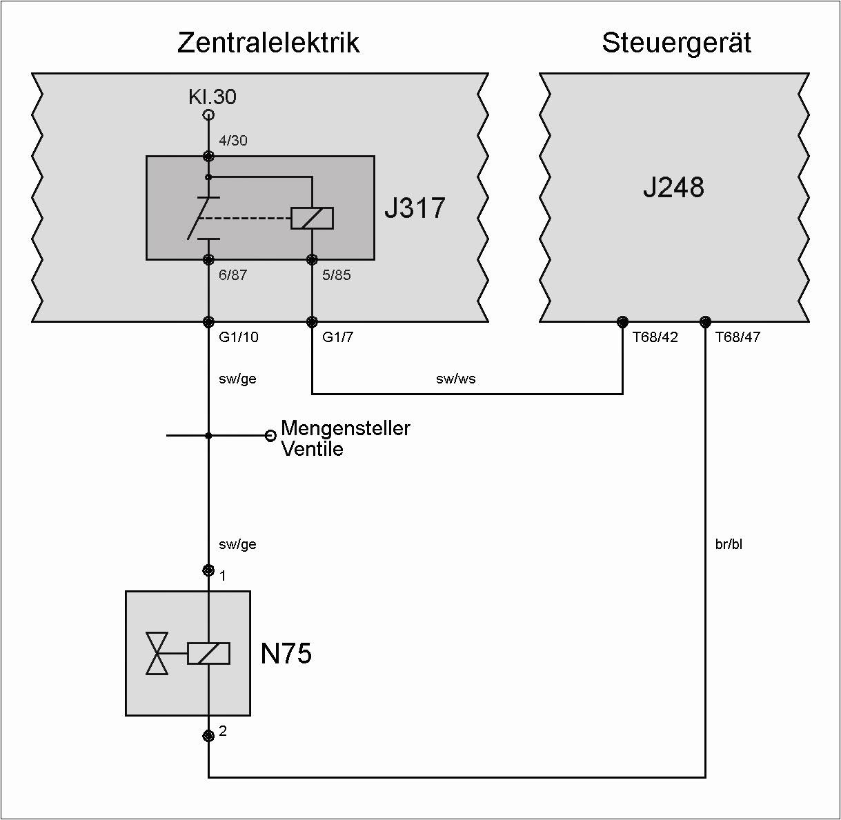 Ventil N75 (Ladedruckbegrenzung) – T4-Wiki