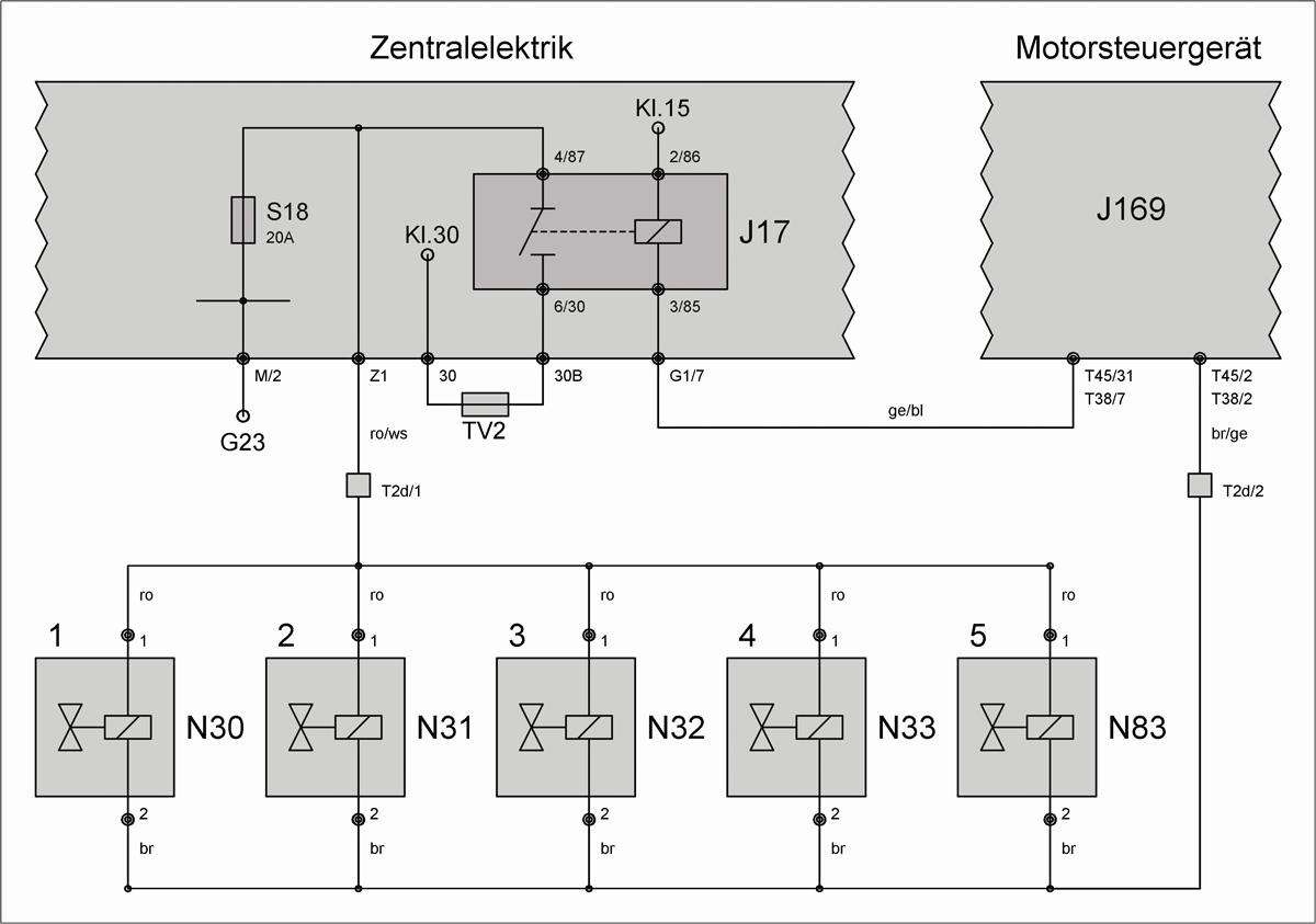 Niedlich 2003 Vr6 Schaltplan Zeitgenössisch - Schaltplan Serie ...