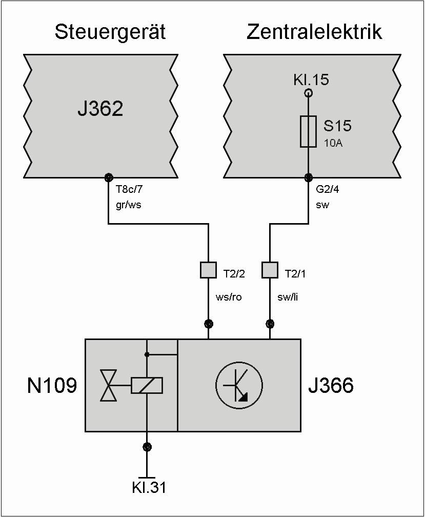 Ventil N109 (Kraftstoffabschaltung) – T4-Wiki