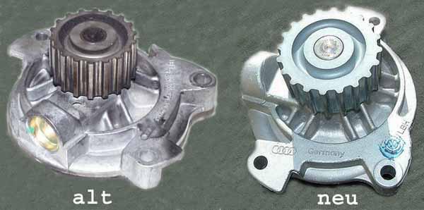VW T4 // LT 2,5 TDI Wasserpumpe ältere Variante ohne Spannrolle 18 Zähne