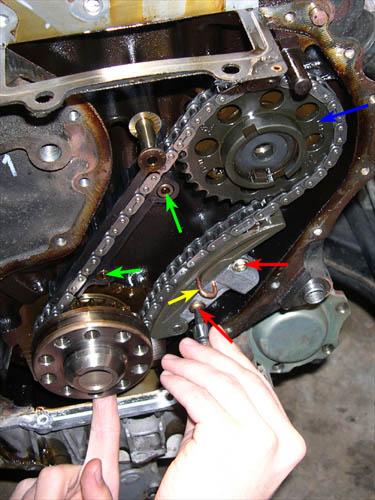 Wechseln anleitung steuerkette z22se Opel Vectra